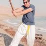 גשקו אימון ג'ו ג'יטסו בטבע לבוגרים באזור ים המלח 5/12 2014
