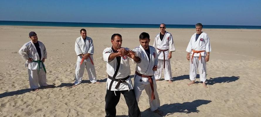 אימון בחוף דור נובמבר 2015