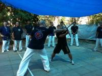 סמינר שנתי ומבחני דרגות של הארגון 22/7/2011 לבוגרים ונוער Israel ju jitsu kobudo org seminar 2011