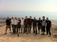 גשקו אימון ג'ו ג'יטסו בטבע לבוגרים באזור ים המלח
